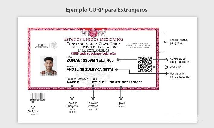 CURP-Extranjeros