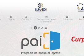 Curp y Programa de Apoyo al Ingreso, PAI (UNAM)