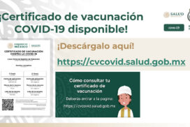 certificado covid mexico