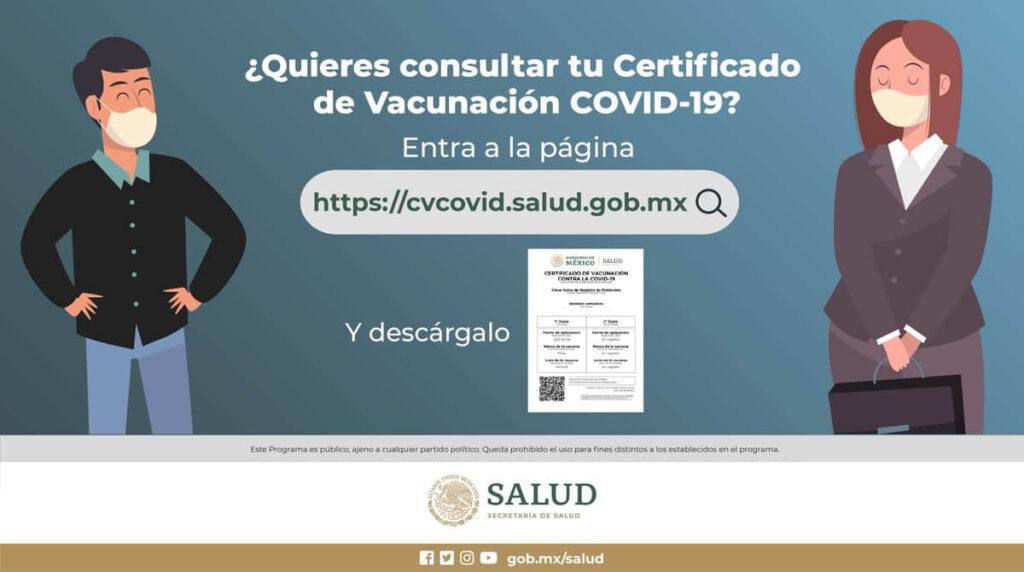 curp y certificado de vacunación